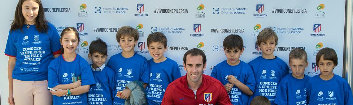 La Fundación Atlético de Madrid con la epilepsia